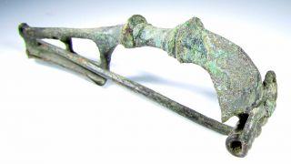 Roman Trumpet Type Brooch/fibula - Ancient Historical Artifact Stunning - C116 photo