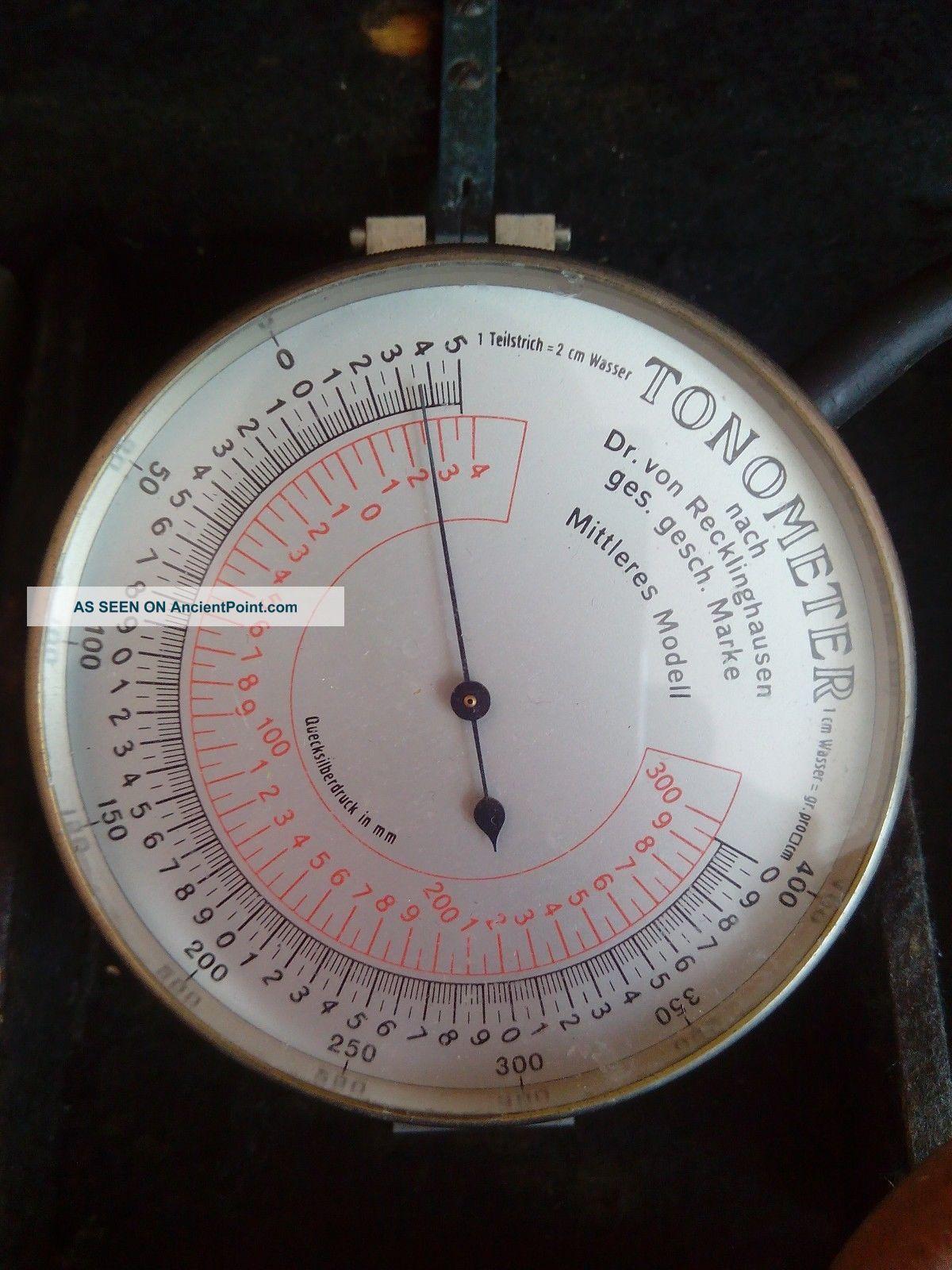 Antique Doctor ' S Tonometer To Measure Blood Presure - Nurce Medical - Rare Other Medical Antiques photo