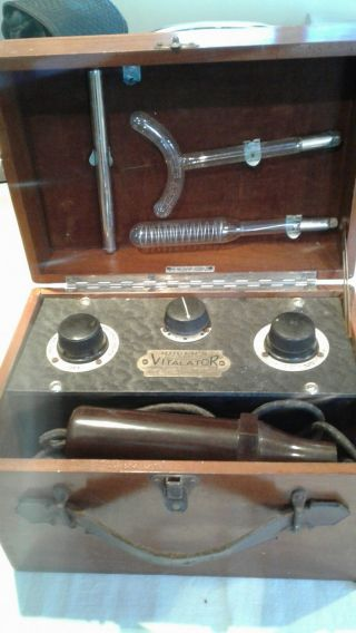 Vintage Rogers Electro Medical Violet Ray Vitalator photo