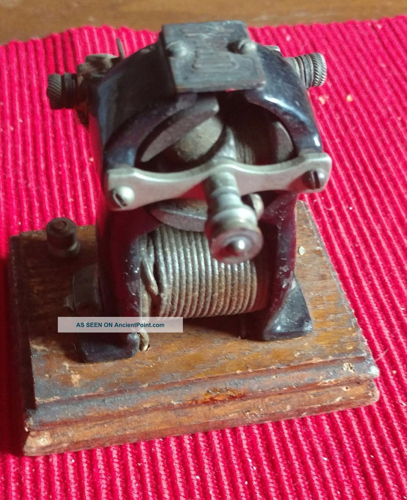 Antique Voltamp,  Small Electric Motor,  Baltimore Train Maker Other Antique Science Equip photo