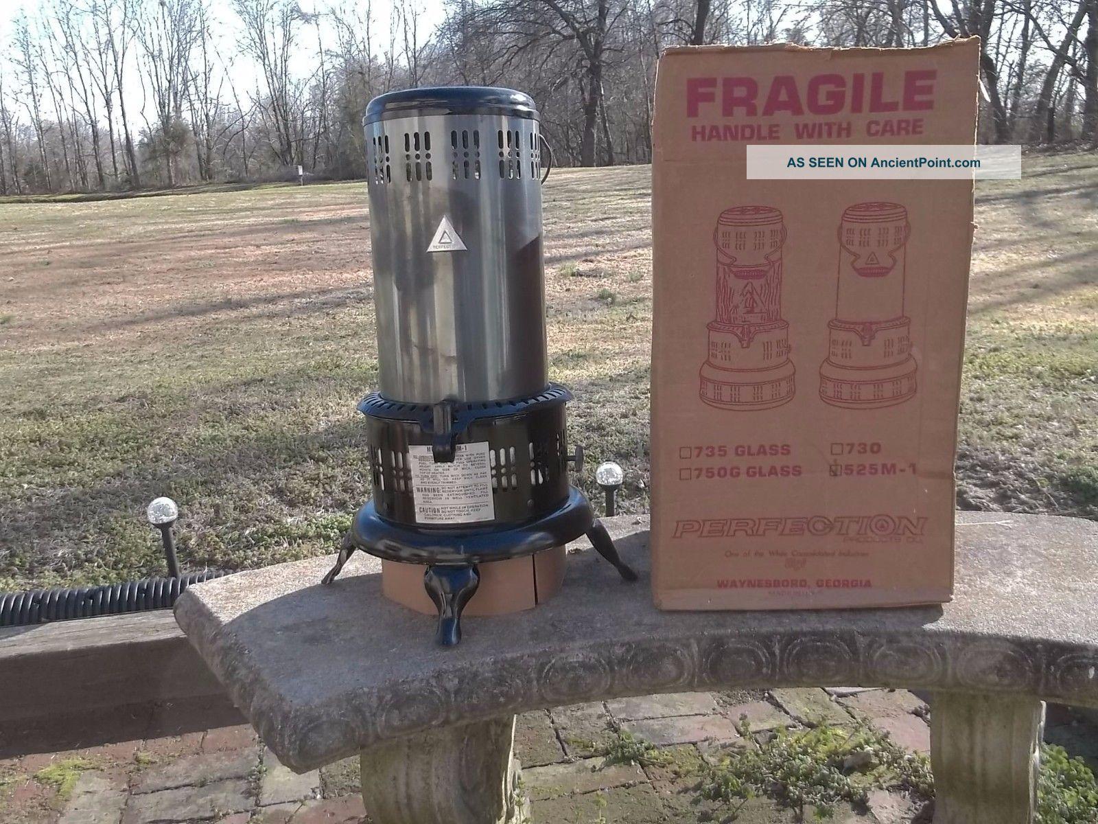 Rare Nos Un - Perfection Kerosene Oil Heater Stove 24