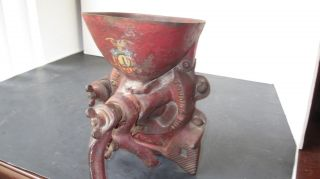 Antique Grain Mill,  Red Chief,  1909, photo