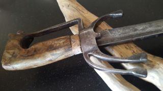 Antique Moroccan Sabre Nimcha (saif) Sword 18/19th photo