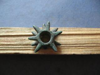 Barbed Form Ancient Celtic Bronze Proto Money 700 - 500 B.  C.  Unique photo