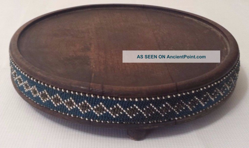 Antique English Trivet - With Hand Beading Trivets photo