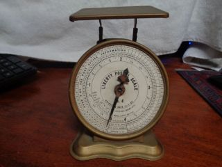 Vintage Postal Scale Triner Liberty No.  4 photo