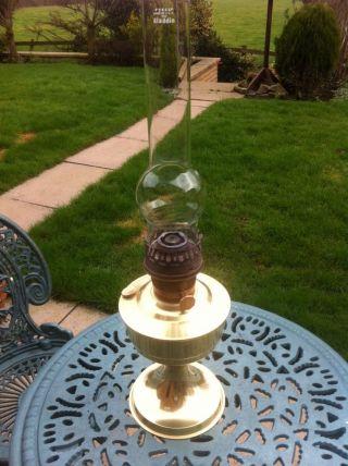 Antique Aladdin 23 Vintage Oil Kerosine Paraffin Lamp photo
