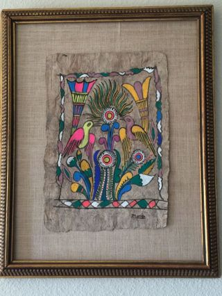 Oil Painting Signed Unknown Artist photo