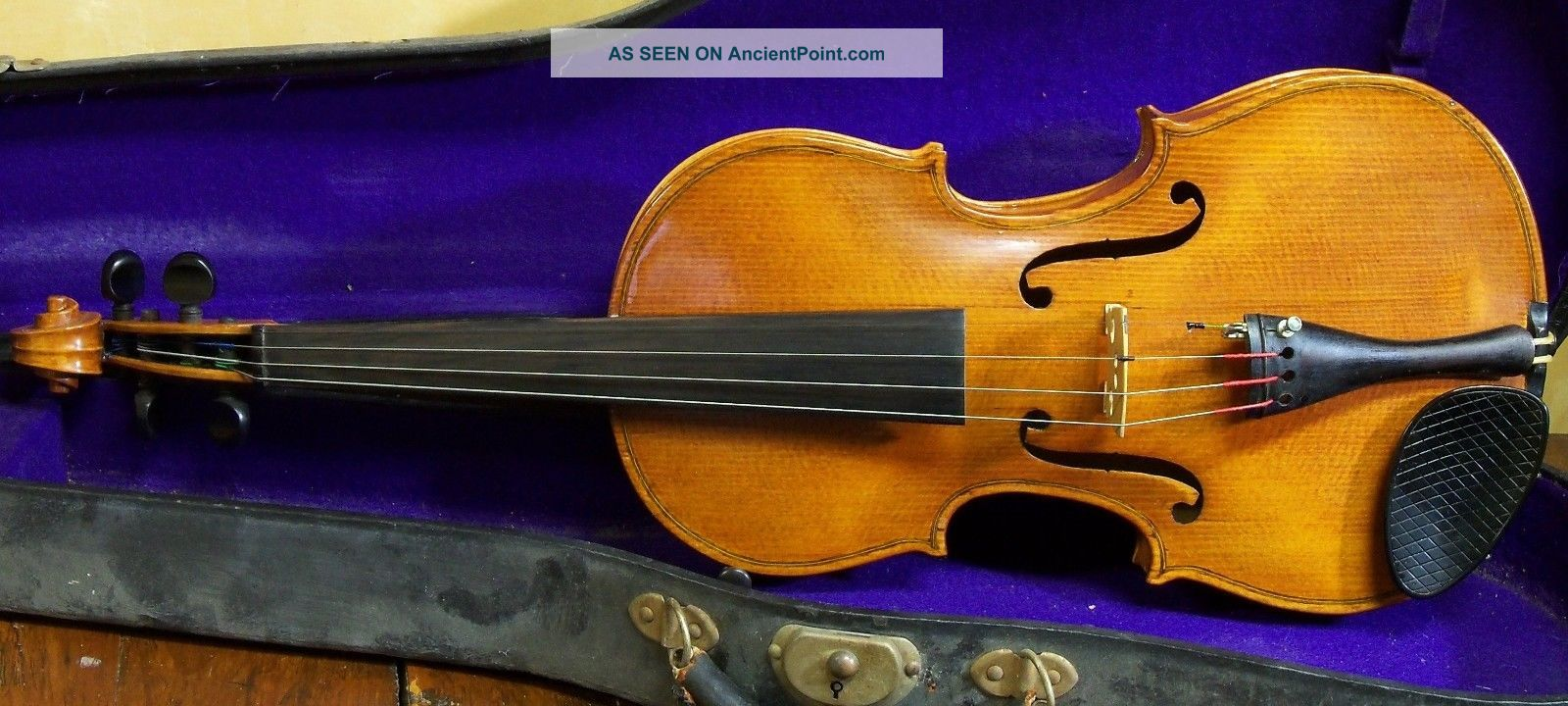 Old American Violin By Hans A.  Berglund 1933 String photo