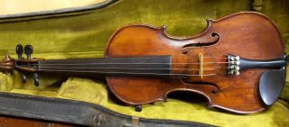 Old American Violin F.  A.  Sennet 1923 photo