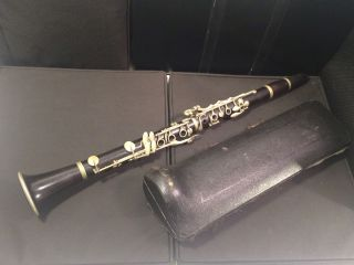 Rare Antique Rampone Cazzani Milano Clarinet W/ Case - Parts / Repair photo