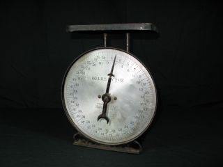Antique Hanson Brothers Chicago 60 Pound Scales – Pat Pending Feb 8,  1898 photo
