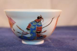 Antiques Japanese Tea Cup - 18th Cent - Samurai photo