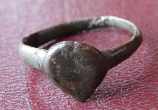 Ancient Artifact Metal Detector Find Finger Ring 9 1/4 Us 19.  25mm 9393 photo