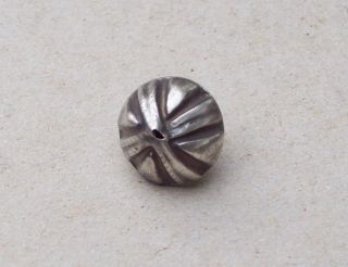 Sterling Silver Button 1700 ' S With Makers Mark Detecting Find photo