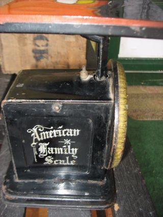 Vintage American Family Scale,  Patent Oct 25,  1898 Price Drop photo