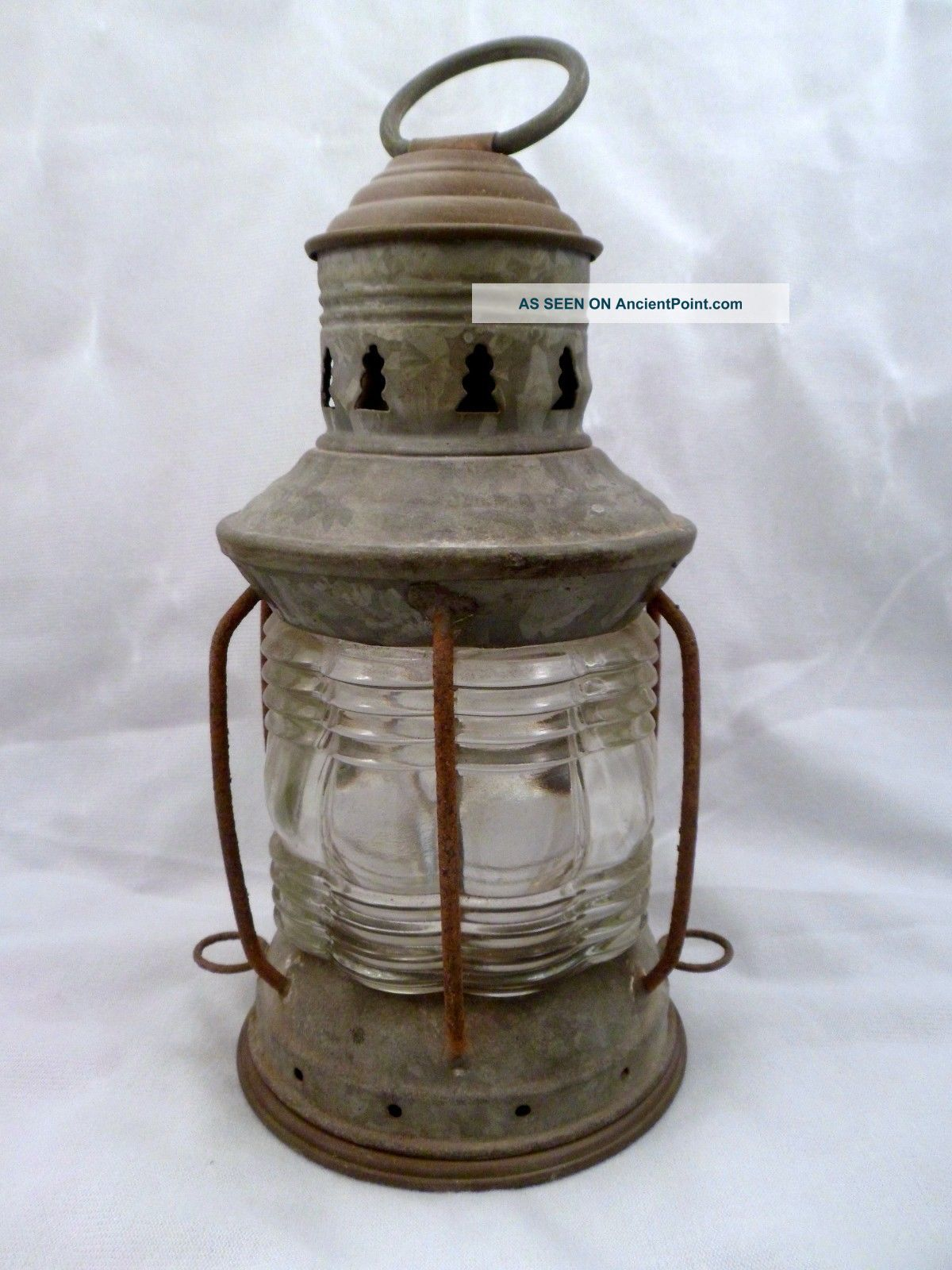 Antique Maritime Oil Masthead Anchor Light,  National Lamp Co Lamps & Lighting photo