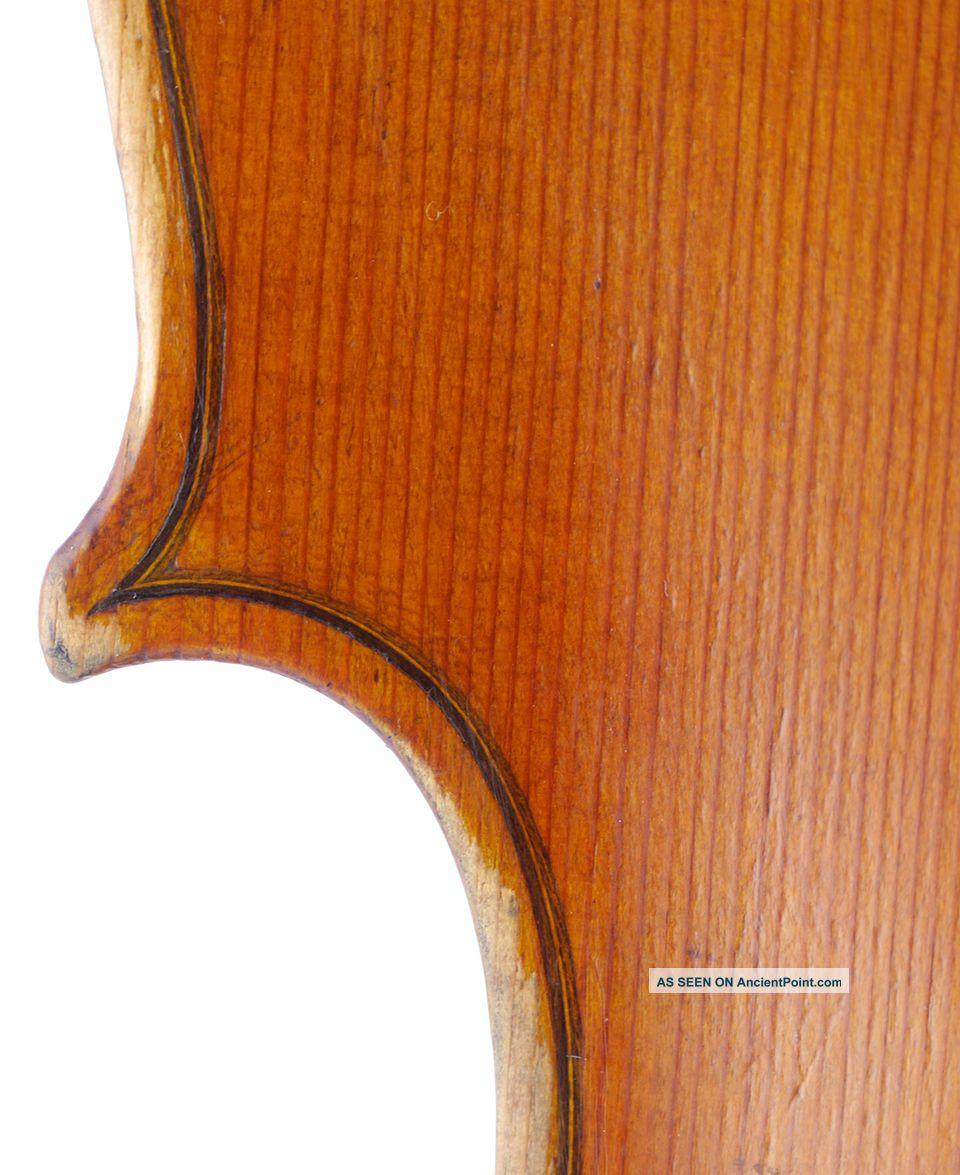 Brilliant Antique Enricus Ceruti Italian 4/4 Old Master Violin - Geige,  小提琴 String photo