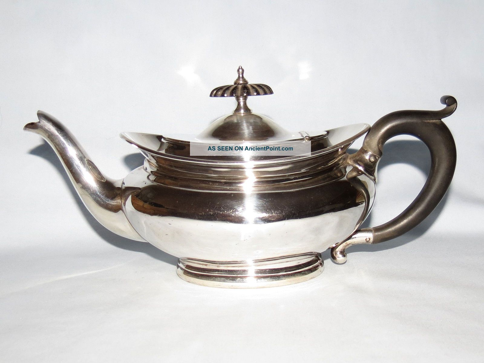 Sterling Silver Bachelors Teapot Hallmarked Birmingham 1919 William Aitken Sterling Silver (.925) photo