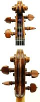 Very Old And Fine Antique Violin C.  1840 Grafted Scroll,  Great Tone,  Ready To Play String photo 2