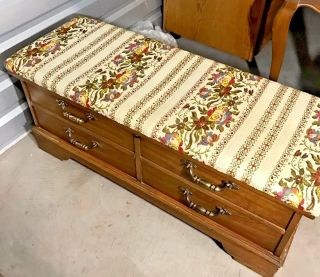 Vintage Lane Love Chest Hope Trunk Blanket End Of Bed Storage Cedar Box Bench photo