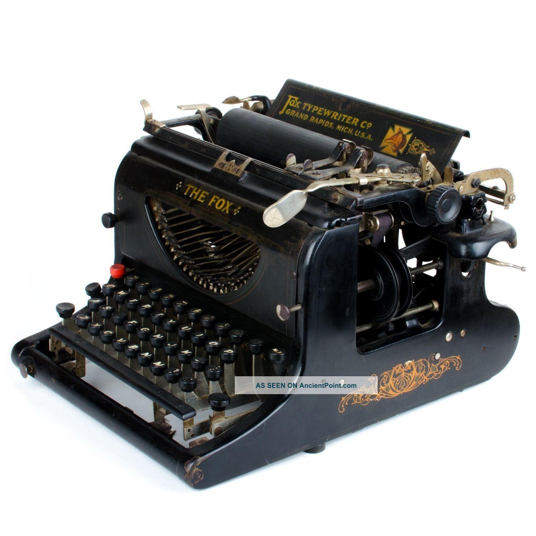 The Fox Visible No.  23 Typewriter The Fox Typewriter Co. ,  Grand Rapids,  Michigan Typewriters photo