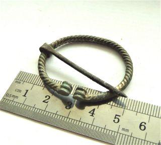 Ancient Bronze Fibula (a083). photo