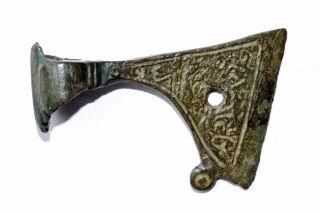 Viking Mythological Battle - Axe Amulet - Runic Symbols - Wearable - St83 photo