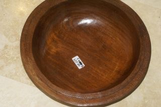 Melanesia Massim Trobriand Island Oceanic Art Huge Hand Carved Bowl 1/2 Price A5 photo