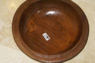 Melanesia Massim Trobriand Island Oceanic Art Huge Hand Carved Bowl 1/2 Price A5 photo