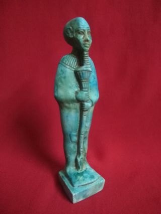 Ancient Egyptian Statue Of God Ptah (4th To 3rd Century Bc) photo