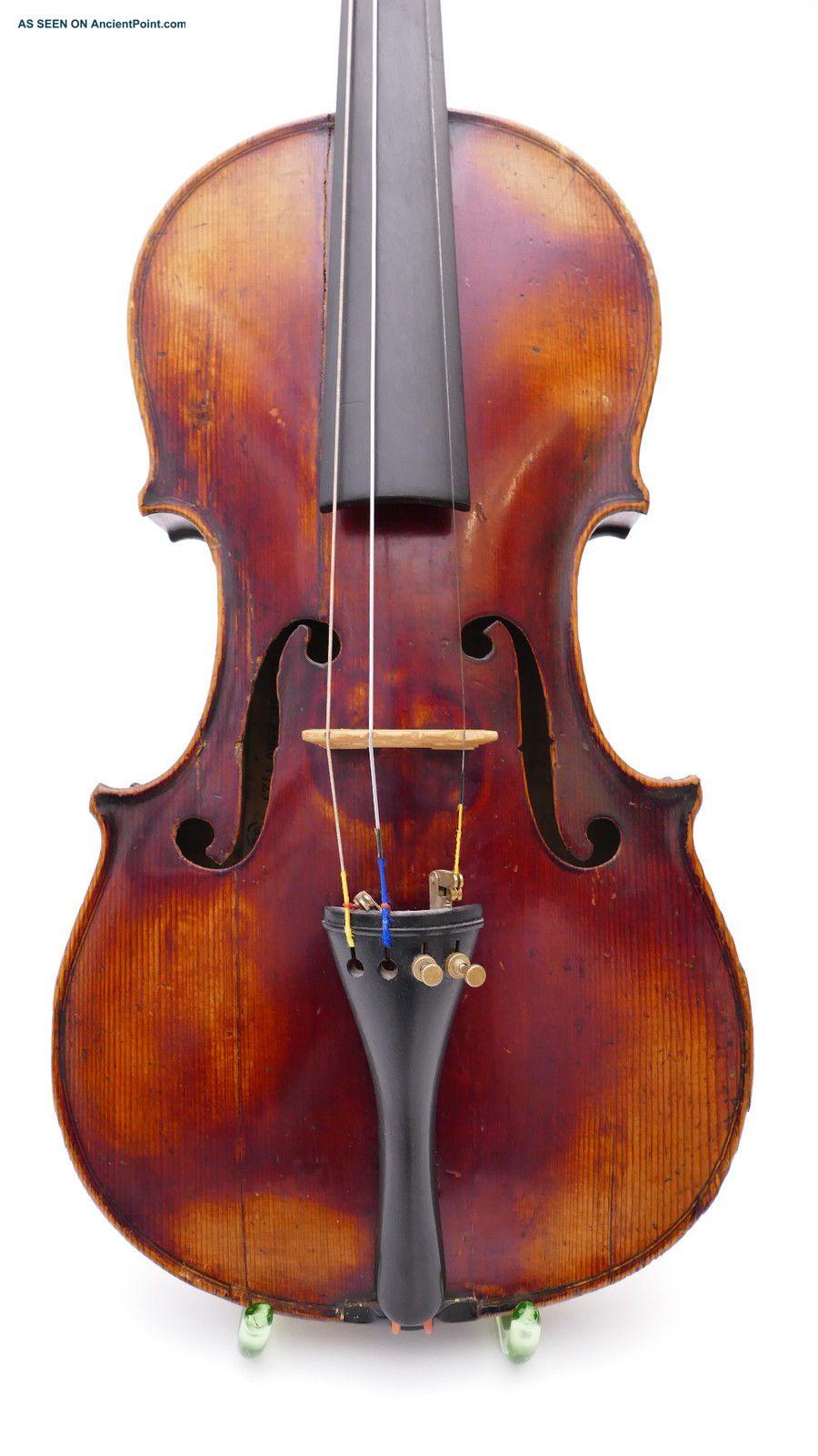 Antonius Stradiuarius Antique Old Violin Violin0 Violine Viola German Germany String photo