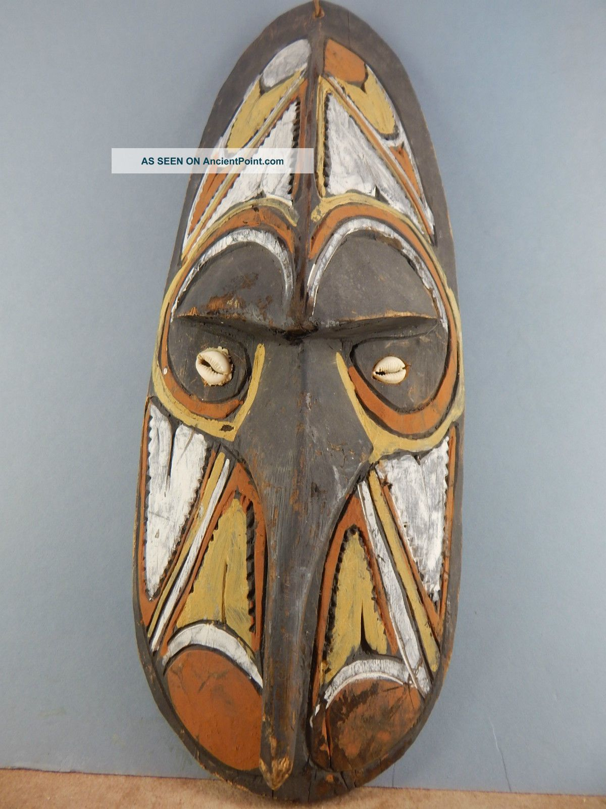 Png Tribal Mask Pacific Islands & Oceania photo