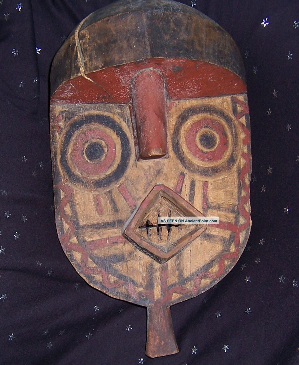 Bwa Mask From Burkina Faso Masks photo