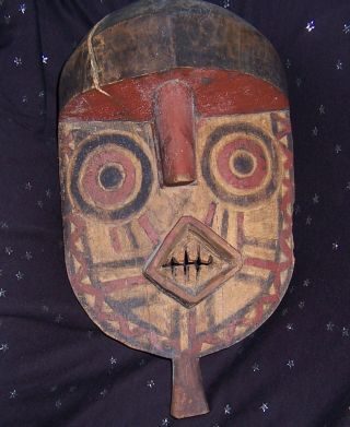 Bwa Mask From Burkina Faso photo