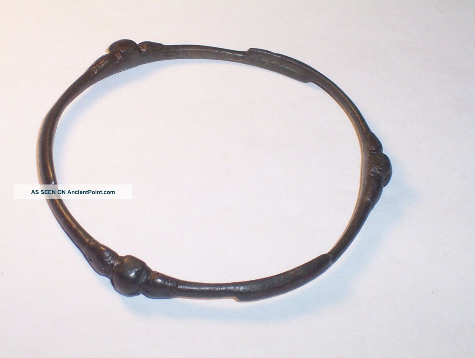 Iron Age Celtic Bronze Bracelet C.  1000 B.  C. Neolithic & Paleolithic photo