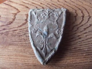 Medieval Britain.  13th/14th Century Large Market Weight. photo