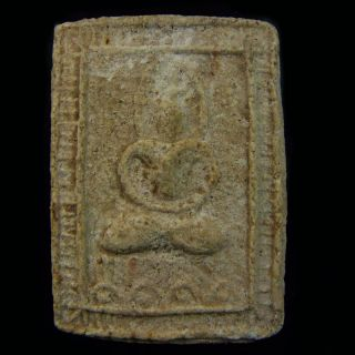 Thai Amulet Buddha Phra Somdej Lp Jun Magic Talisman Wealth Love Lucky Pendant photo
