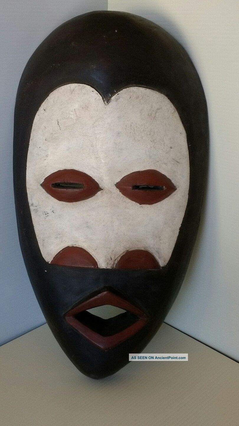 African Dan Mask From Liberia Represents Feminine Beauty Masks photo
