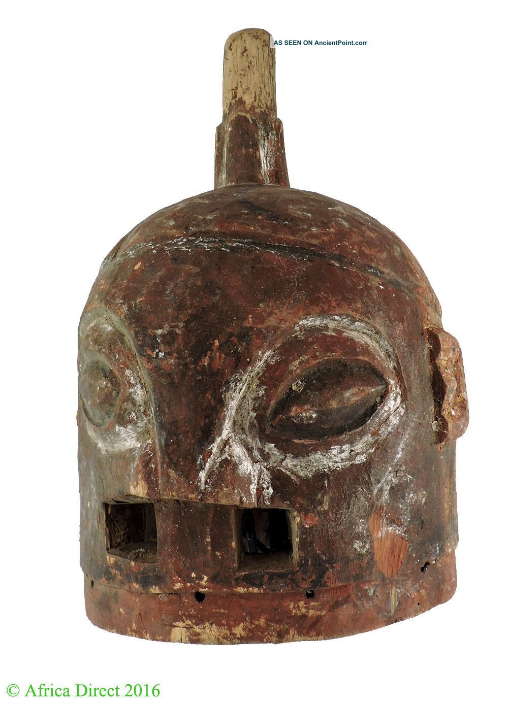 Ekiti Yoruba Helmet Mask Nigeria Africa Masks photo