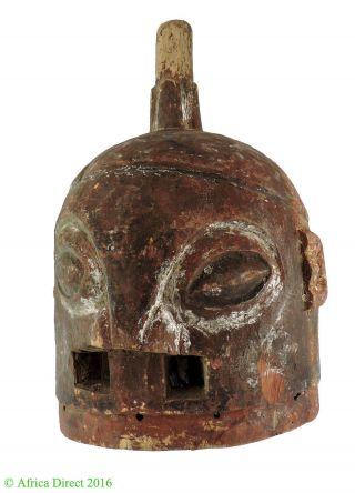 Ekiti Yoruba Helmet Mask Nigeria Africa photo