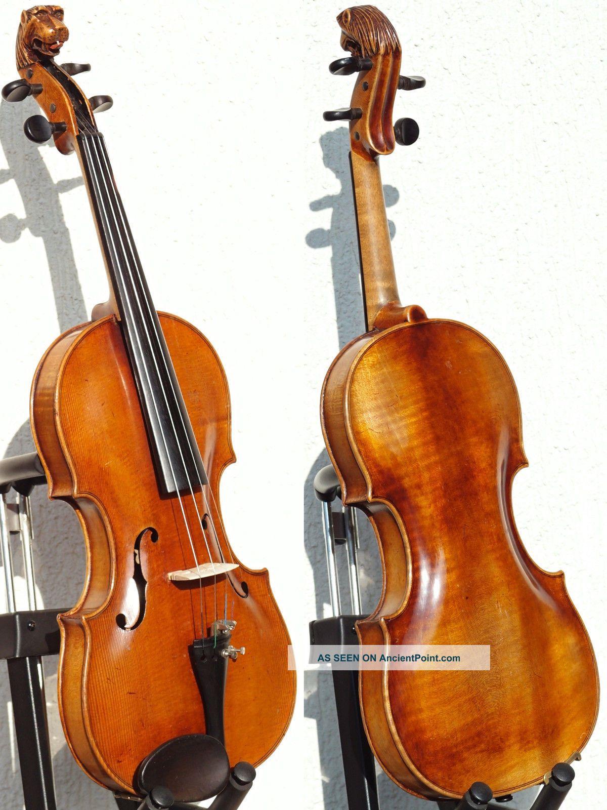 Fine Antique Violin Labelled Gio.  Maria Del Bussetto,  Cremona.  Gorgeous Tone String photo