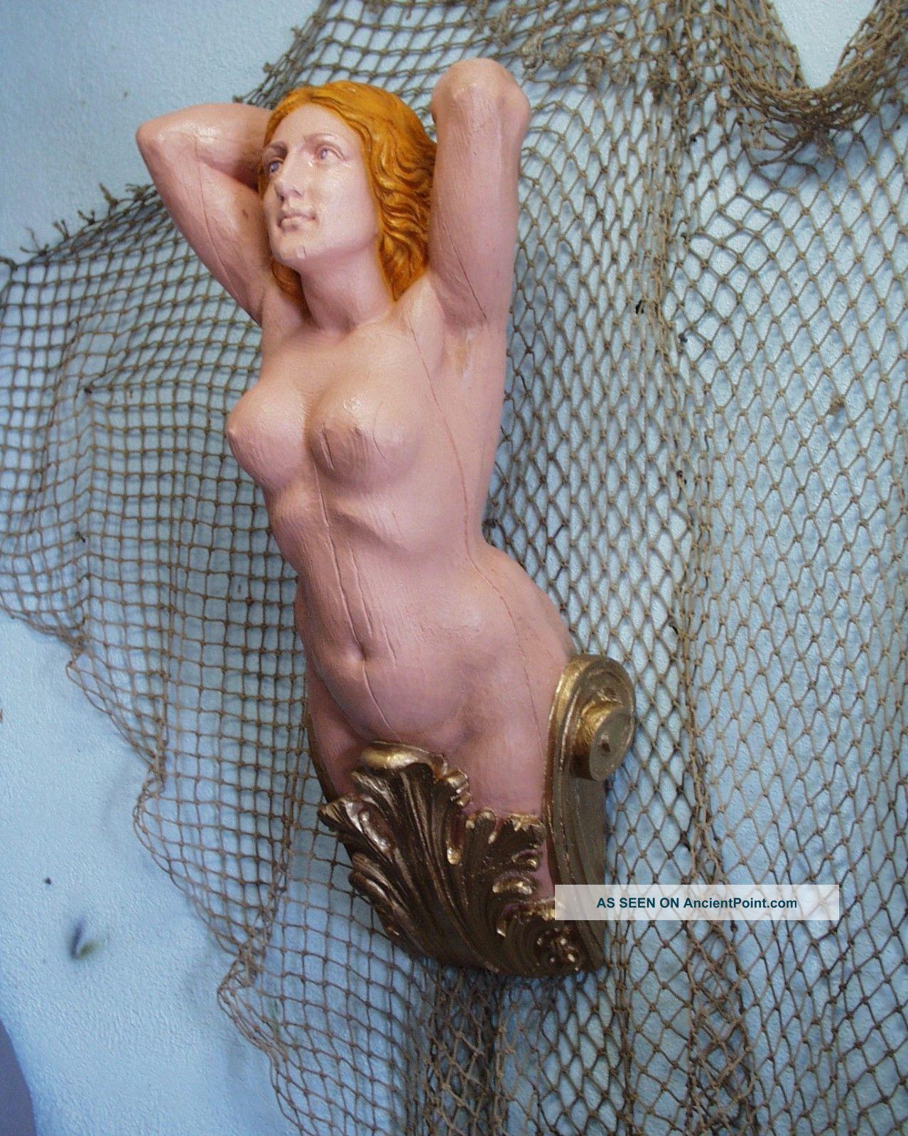 Britannia Ship ' S Figurehead - Nautical - Folk Art Decor Folk Art photo
