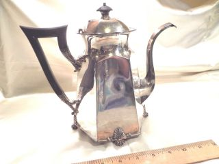 Antique Pairpoint Mfg.  Co. ,  Bedford,  Ma,  Quadruple Plate 6 - Sided Coffee Pot photo