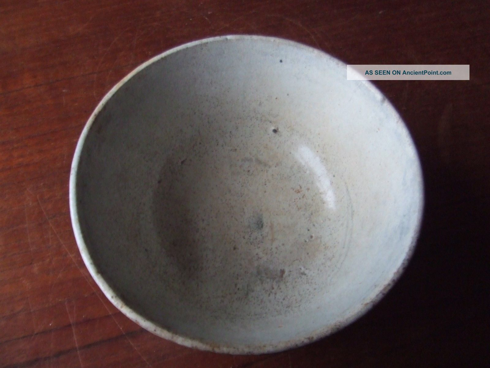 China.  Ming Dynasty.  16th/17th Century A Blue Glazed Pottery Bowl, Chinese photo