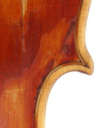 Fine,  Antique Riccardo Antoniazzi Italian 4/4 Old Master Violin - Geige,  小提琴 photo