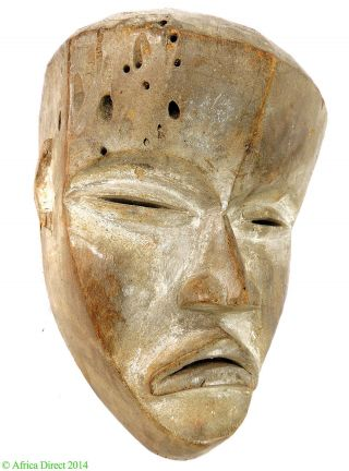 Dan Mask Tankagle Cote D ' Ivoire Liberia African Art Was $290.  00 photo