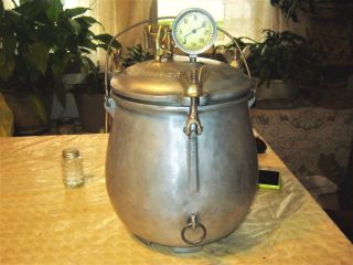 Antique The Pressure Cooker Co.  Denver Co.  Circa 1916 47236 Pristine photo