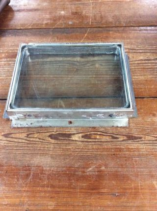 O ' Keefe & Merritt Vintage Stove Oven Door Window Glass photo