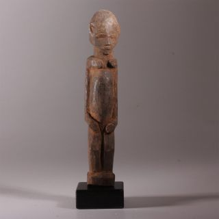 8121 Lobi Bateba Phuwe Shrine Figure Wood Display photo